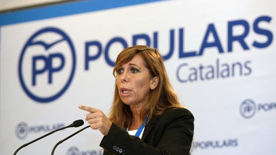 Sánchez Camacho: Es muy triste que algunos sigan llamando corrupta a Barberá