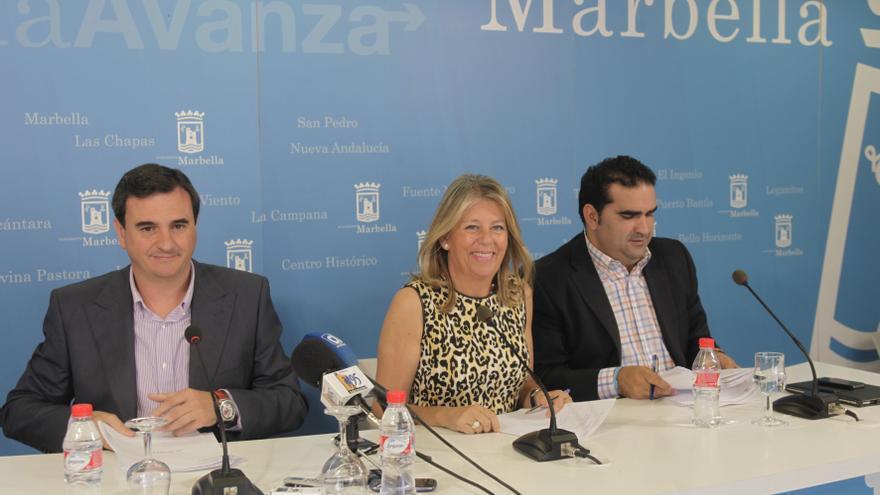 La alcaldesa de Marbella Ángeles Muñoz