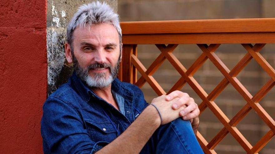 El actor cordobés Fernando Tejero posa durante una entrevista con la agencia Efe en Galdar.