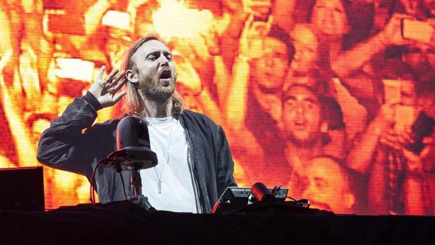 David Guetta encandila a más de 16.000 personas en Benidorm