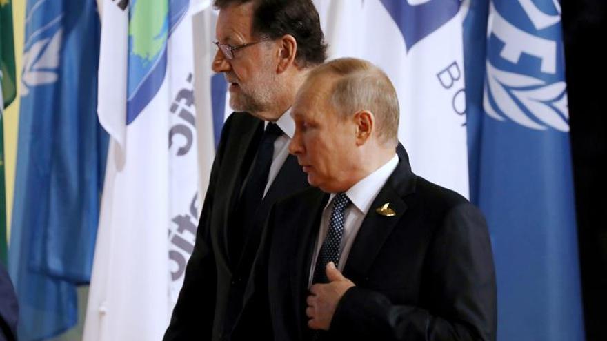Rusia reitera que la situación de Cataluña es un asunto interno español