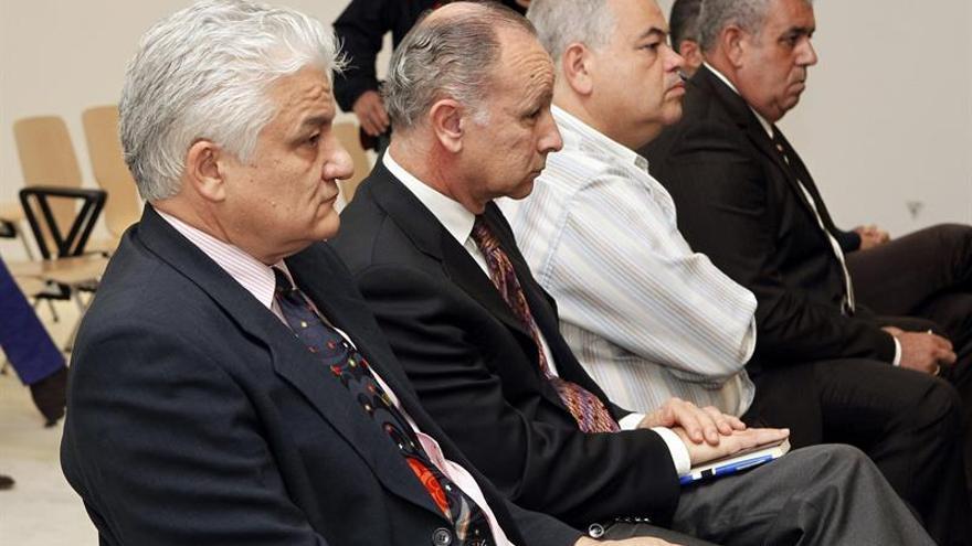 El banquillo de los acusados del caso Grupo Europa