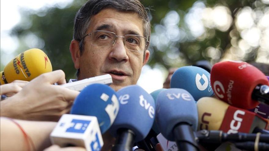 Patxi López dice que la moción de censura está socialmente ganada y que el PSOE debe hacerla