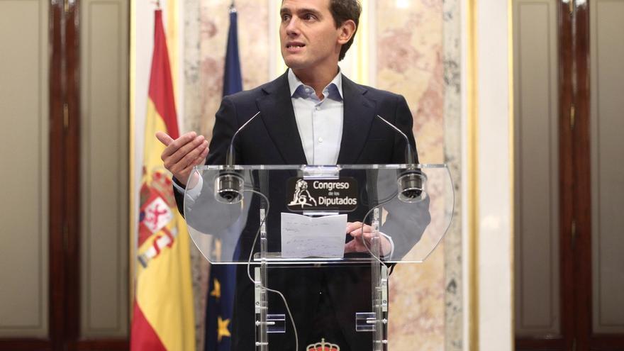 """Rivera afea a Sánchez que """"culpe"""" a los votantes de la falta de gobierno y promete pactar con el PP tras el 10N"""