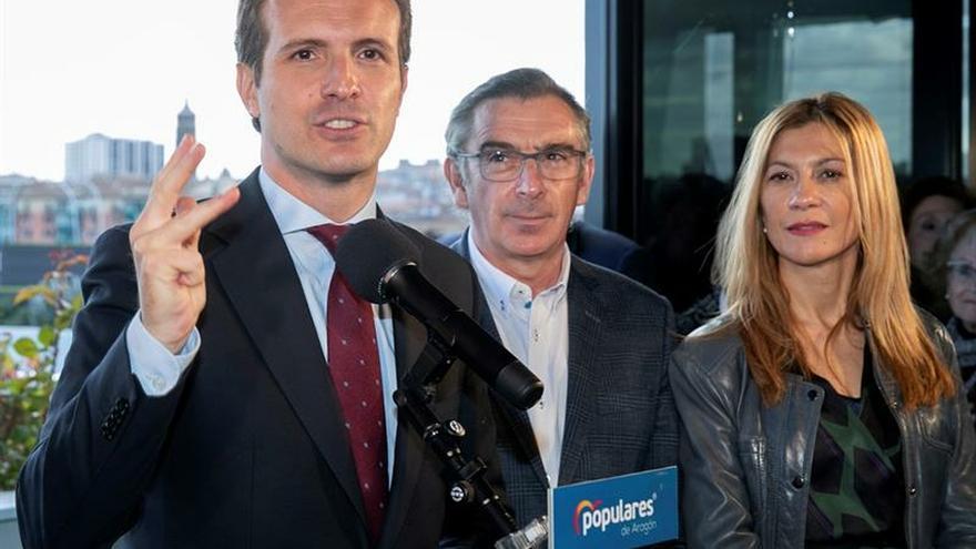 """Casado garantiza que el PP irá """"hasta el final"""" contra los """"viernes sociales"""""""