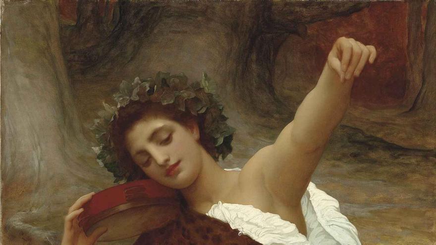 Bacchante - Frederic Leighton.