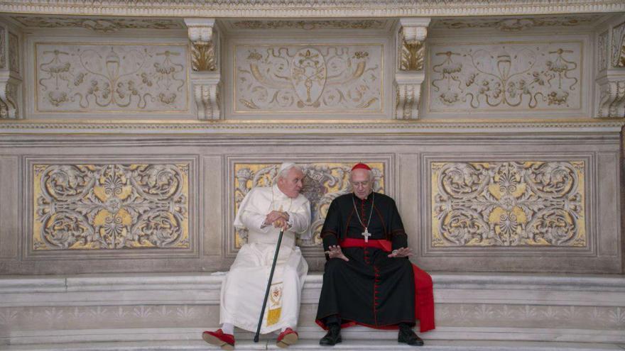 Fotograma de 'Los dos papas'