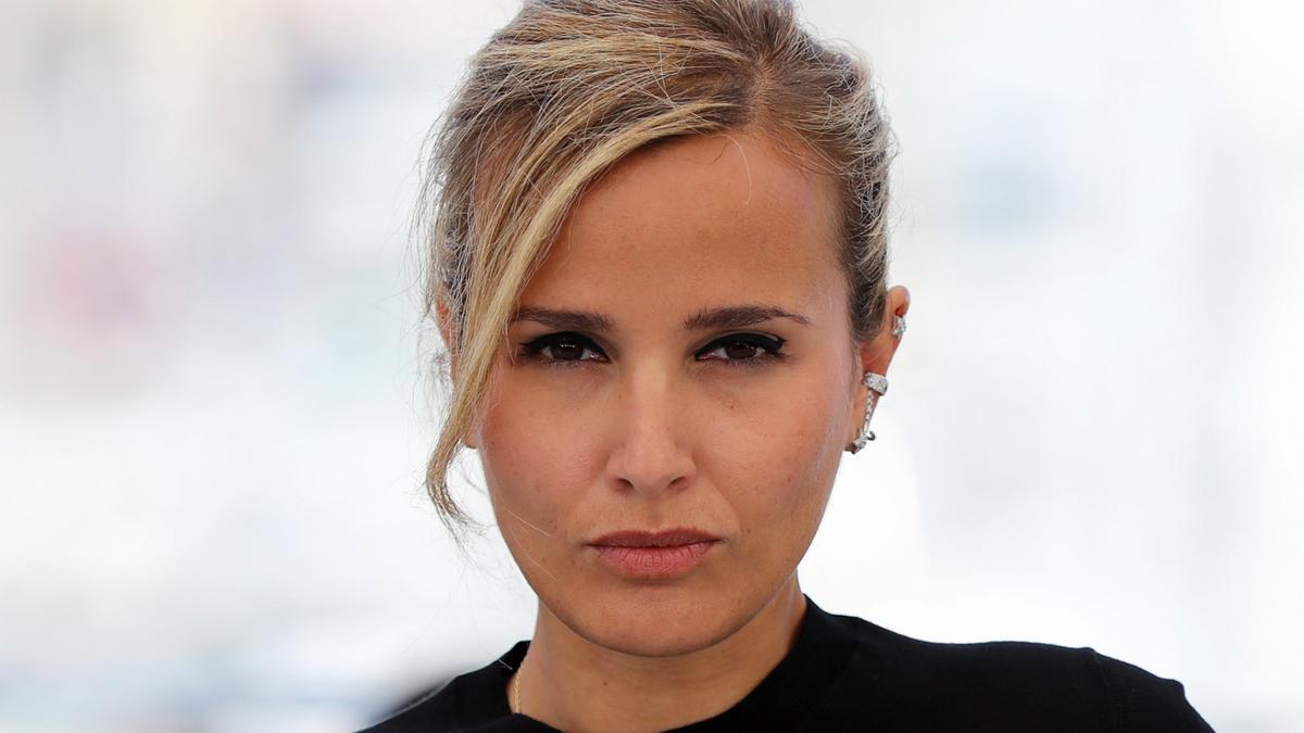 Julia Ducournau, directora de 'Titane', en Cannes