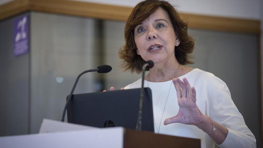 La presidenta del Consejo de la Transparencia y Bueno Gobierno, Esther Arizmendi