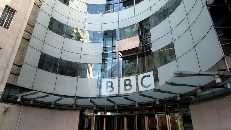 La sede de la BBC británica