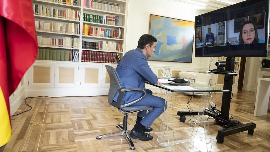 Sánchez obtiene el 'sí' a su mesa de diálogo para pactos de Estado de Podemos, Junts y Ciudadanos