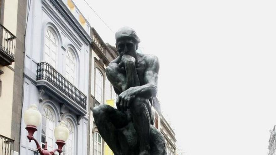 Las esculturas de Rodin ya se pueden ver en la capital grancanaria.
