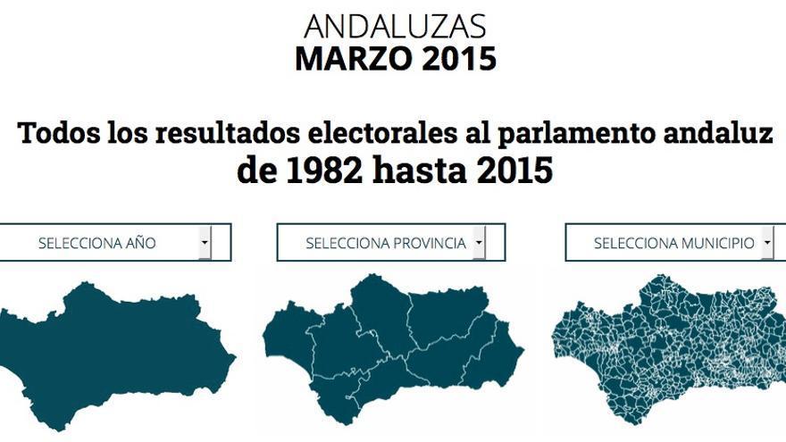 Cobertura especial de las elecciones en Andalucía