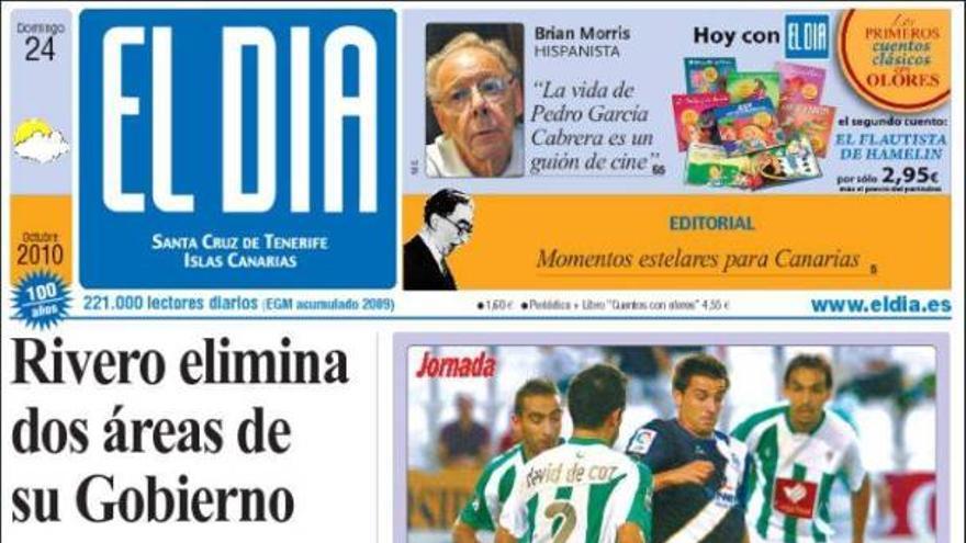 De las portadas del día (24/10/2010) #4