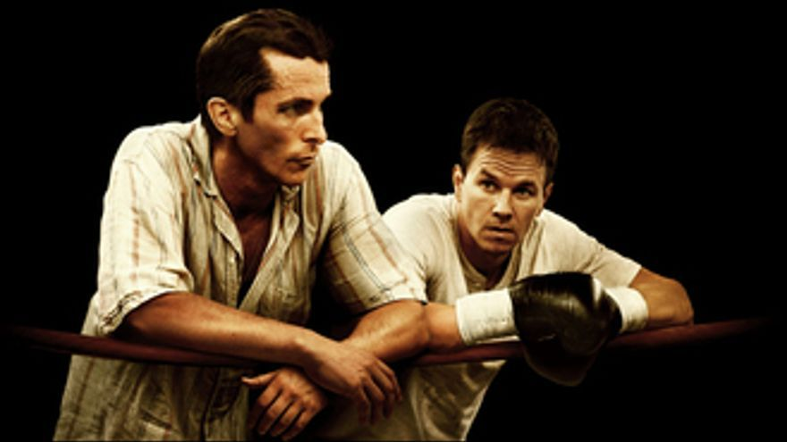 Christian Bale y Mark Wahlberg en The Fighter