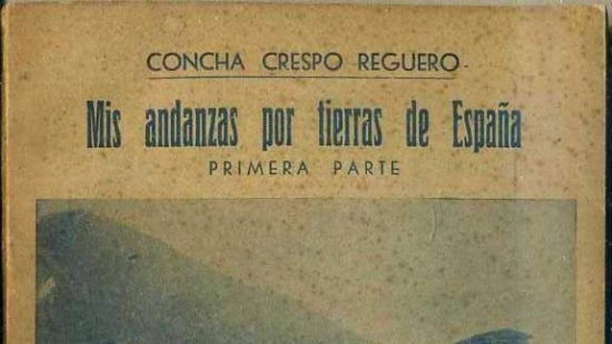 Portada de 'Mis andanza por tierras de España: La Montaña', por Concha Crespo Reguero.