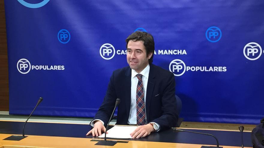 Lorenzo Robisco, portavoz adjunto del Grupo Parlamentario Popular en Castilla-La Mancha
