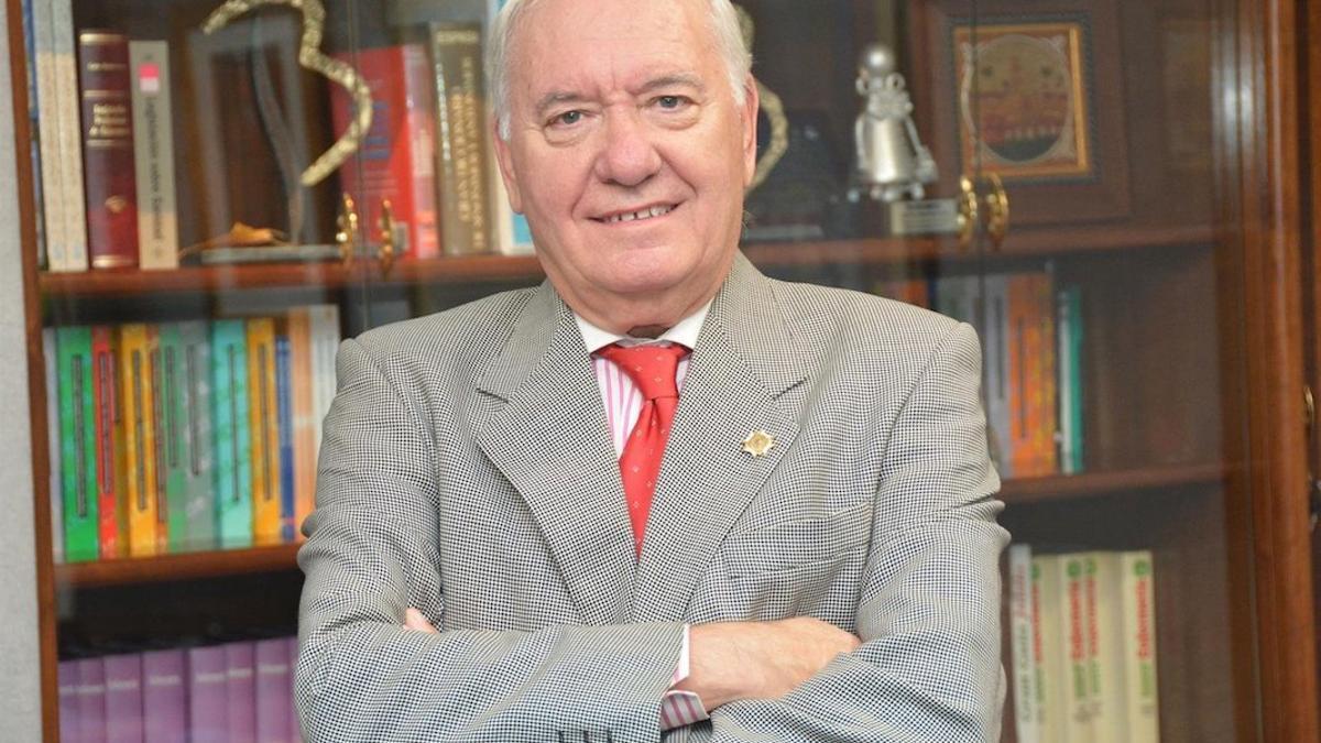 florentinoperezraya - El presidente del Colegio de Enfermería de Córdoba, Florentino Pérez Raya.