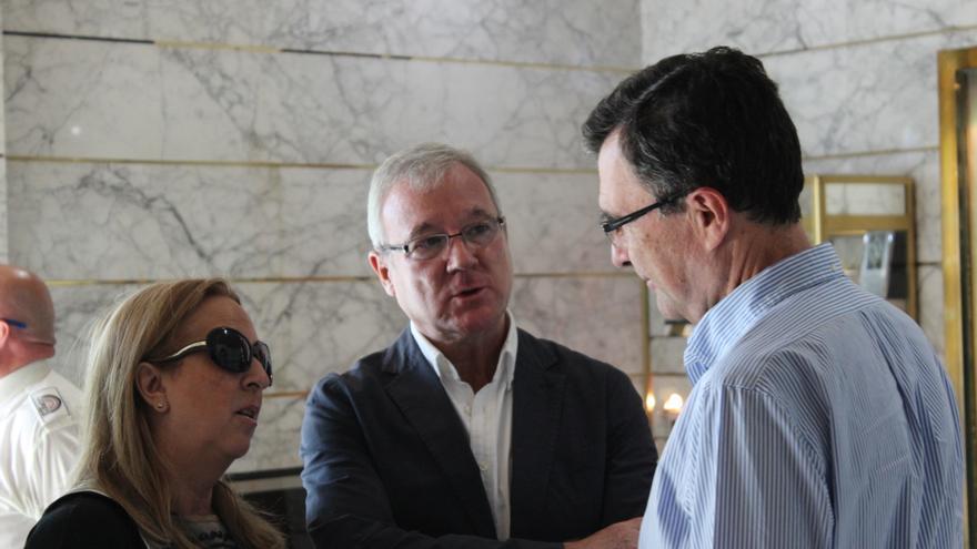 El expresidente de la Región de Murcia, Ramón Luis Valcárcel, en la Intermunicipal del PP / PSS