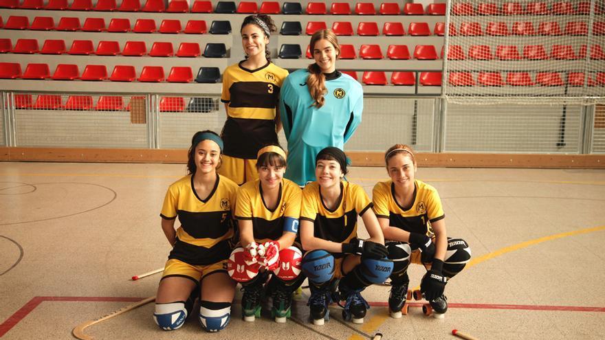 El II Premio TV CIMA a la igualdad recae sobre 'Les de l'hoquei', la serie sobre un equipo de hockey femenino