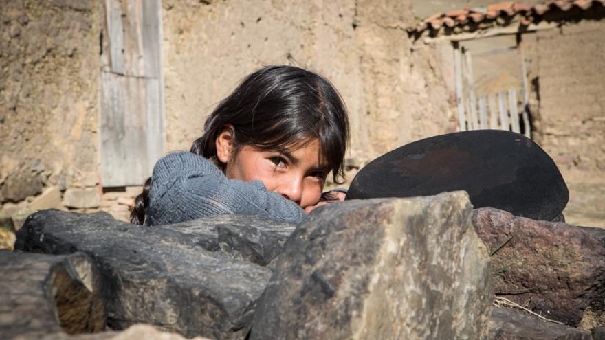 Rogelia vive en la comunidad boliviana de Santa Rosalía (Salva Campillo/AEA)