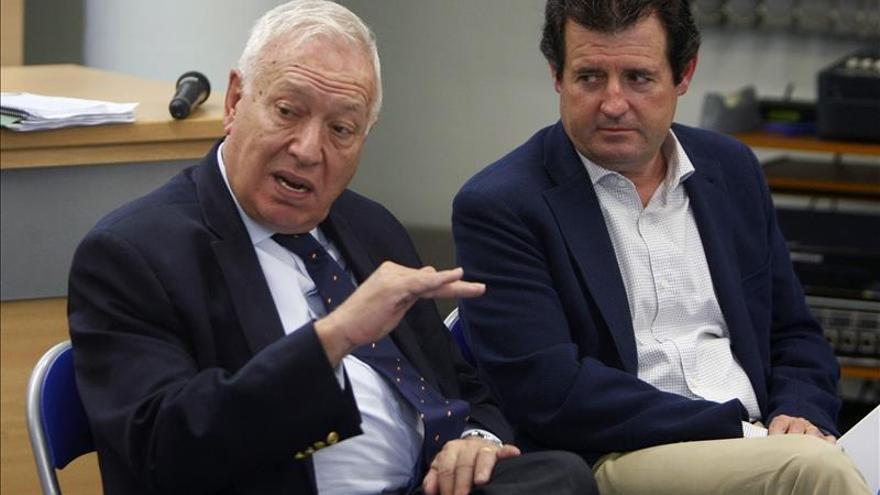 Margallo: Cualquier medio será aplicado para mantener la unidad de España