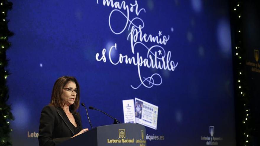 La presidenta de Loterías: El sorteo de Navidad es único por nuestro carácter