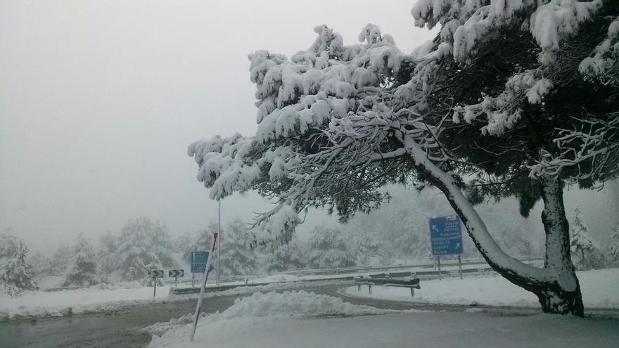 Alertan de nevadas a 500 metros este sábado en Álava y en el interior de Gipuzkoa
