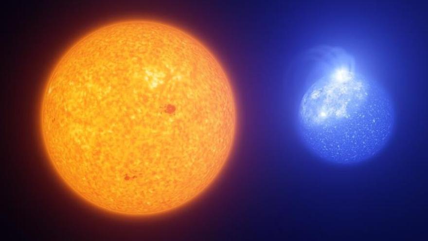 Las estrellas calientes están plagadas de manchas magnéticas gigantes