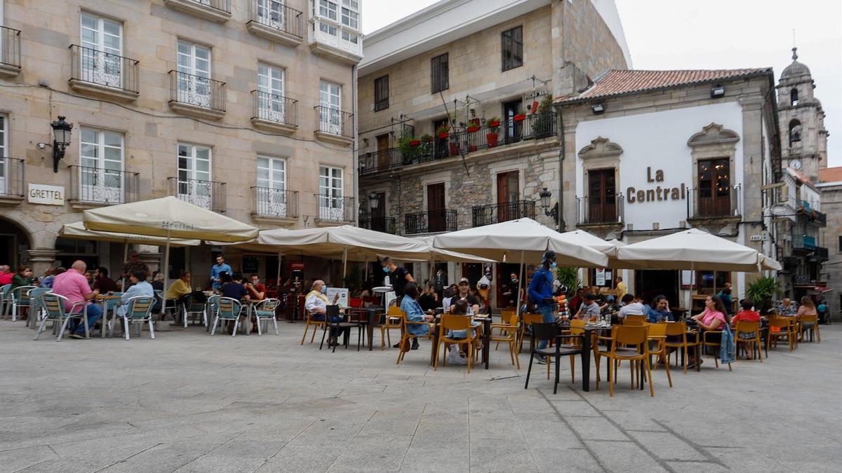 Terrazas en Vigo.