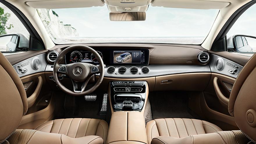 Habitáculo del Mercedes Clase E All Terrain.