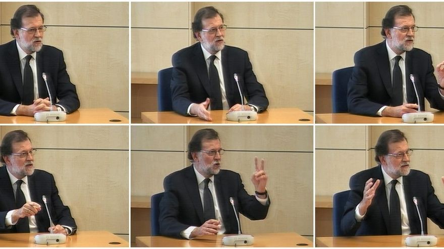 Respuestas de Rajoy a los distintos bloques de preguntas formuladas en su declaración en la Audiencia Nacional