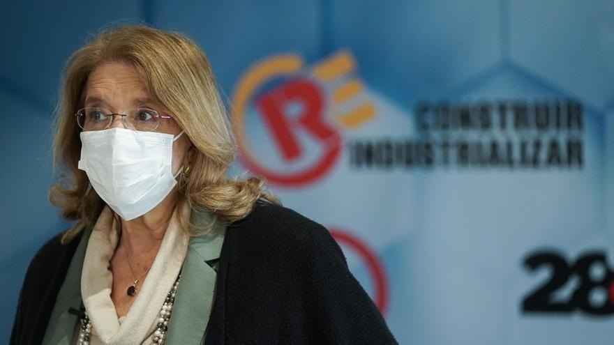 La vicesecretaria de Sectorial del PP, Elvira Rodríguez