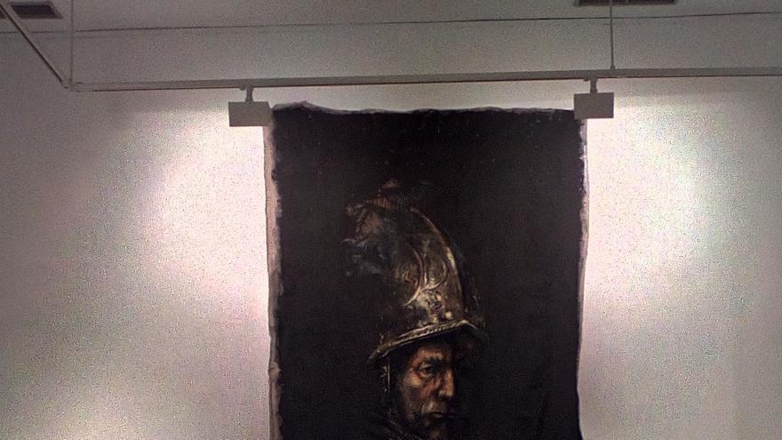 Vista de una de las piezas de la exposición