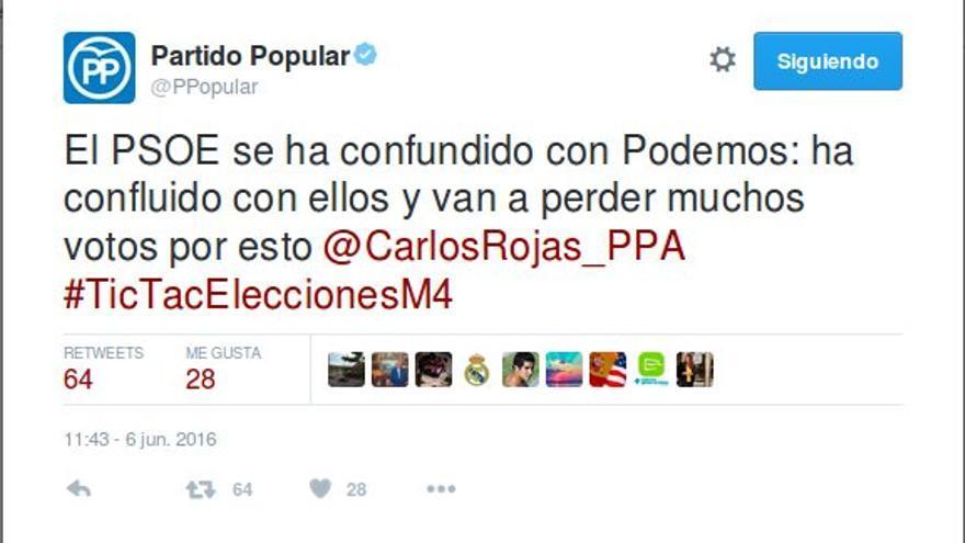 PSOE confluye con Podemos
