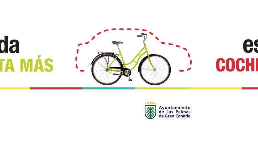 Las Palmas de Gran Canaria se suma a campaña nacional para fomentar el uso de la bicicleta