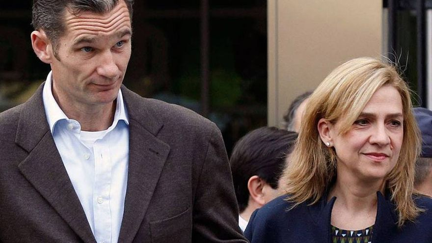 Iñaki Urdangarín y Cristina de Borbón. (EFE).