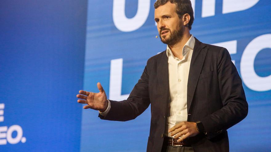 """Casado apoyará al Gobierno para """"lo que tenga que hacer en Cataluña"""""""