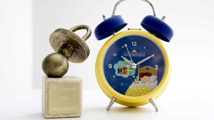 Plátano de Canarias ha obtenido el premio Chupete de Oro a la mejor promoción por su campaña 'Despertador Mágico'.