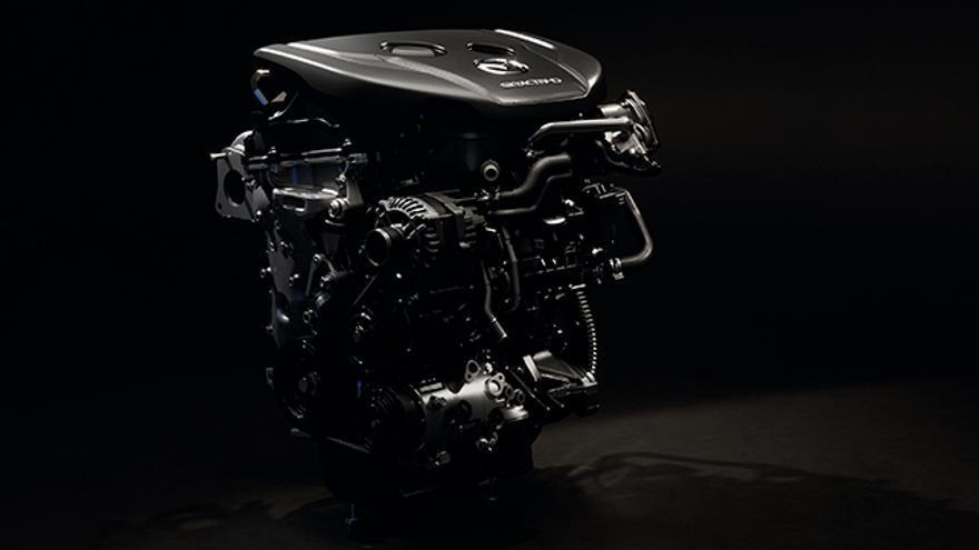 El nuevo Mazda3 cuenta con dos motores de gasolina de dos litros y un diésel 1.8.