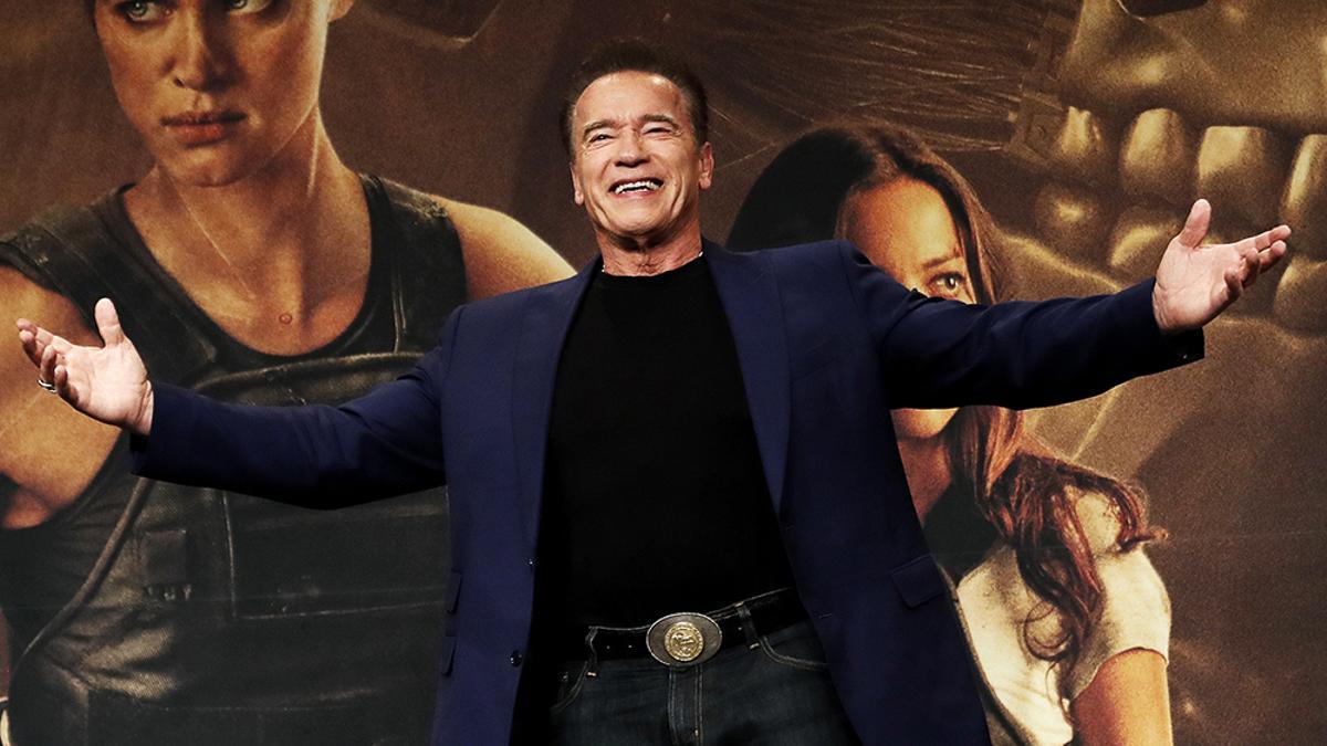 Arnold Schwarzenegger en una foto de 2019