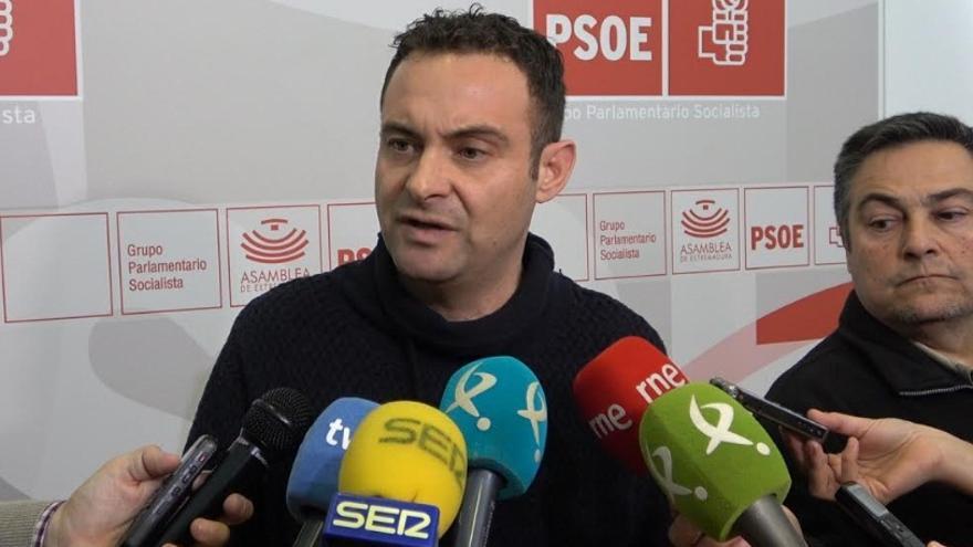 El secretario de Hacienda y Financiación del PSOE de Extremadura, Jorge Amado