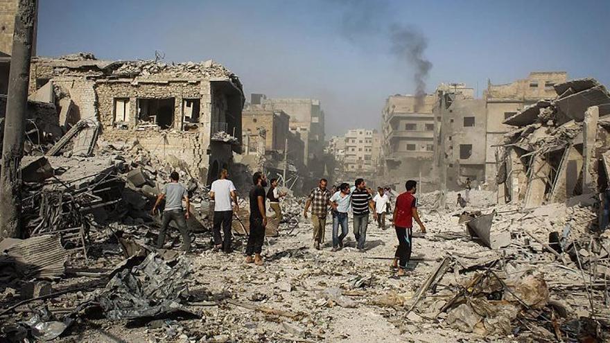 Gran parte de la inestabilidad de Oriente Próximo, deriva de las políticas de guerra del trío de las azores.