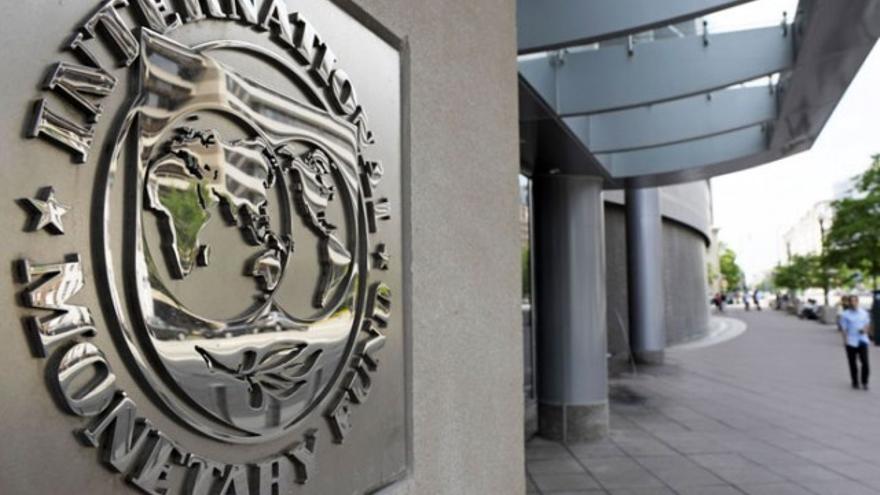 Sede central del Fondo Monetareo Internacional (FMI) en Washington, D.C., Estados Unidos