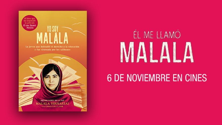 'Yo soy Malala', el libro que ha inspirado la película documental 'Él me llamó Malala'