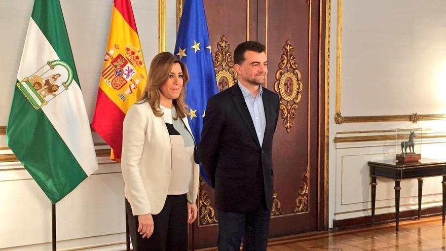"""IULV-CA votará en contra de la investidura de Susana Díaz por un evidente """"problema de credibilidad"""""""