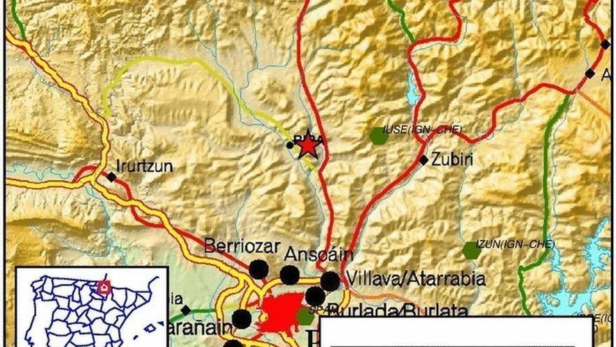Nueva réplica del terremoto, que se ha sentido otra vez en la Comarca de Pamplona