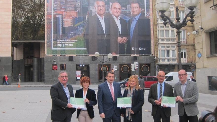 PNV llama a acordar un nuevo estatus desde el reconocimiento del derecho de los vascos a decidir sobre su futuro