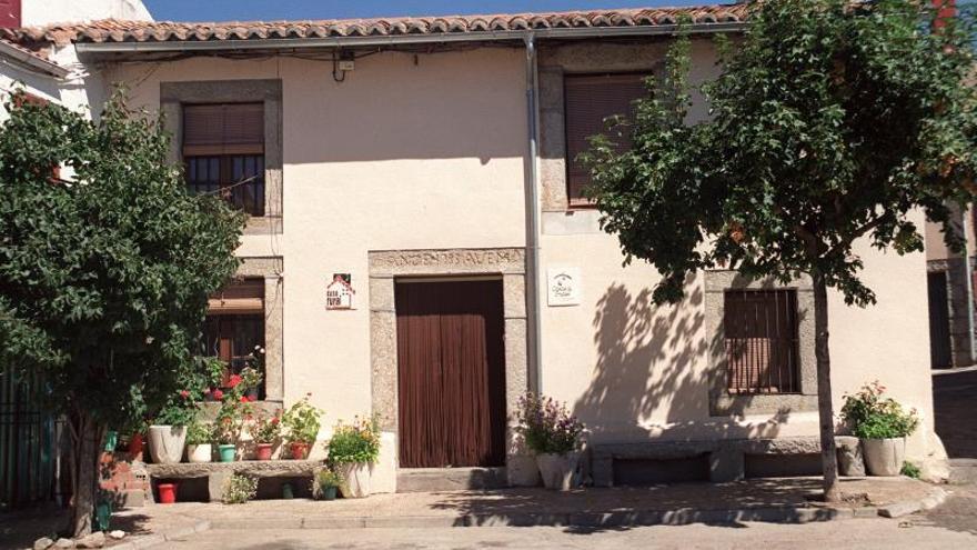 Casa rural en un pueblo de la Sierra de Gredos.