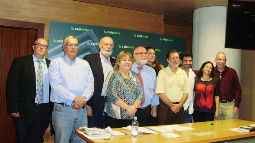 Miembros de la Asociación de la Prensa de Tenerife. (FAPE)